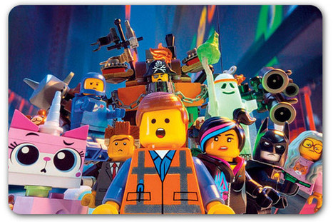 4 PR lessons from 'The Lego Movie'   Swing your communication   Scoop.it