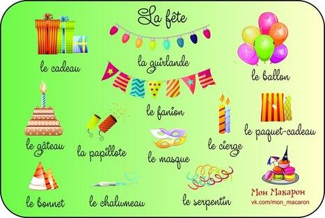 La fête | FLE enfants | Scoop.it