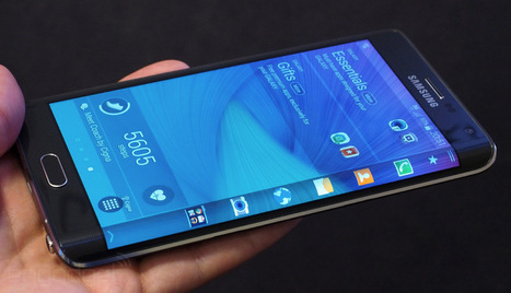 The Galaxy Note Edge: Samsung's first smartphone with a bent display | Matmi Staff finds... | Scoop.it