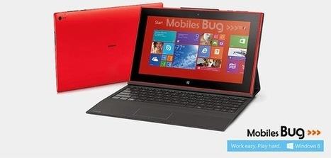 Nokia Unveils Lumia 2520 Windows 8.1 Tablet | Mobiles Bug | Scoop.it