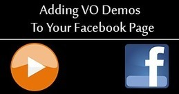 Adding Your VO Demos To Your Facebook Page | Voice Over News | Scoop.it