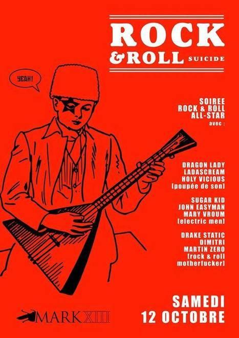 ROCK & ROLL SUICIDE samedi 12 octobre | GRECOOL : Grenoble is cool | Scoop.it