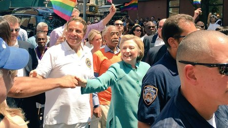 Hillary Clinton makes historic appearance at NYC Pride parade | Gay News | Scoop.it