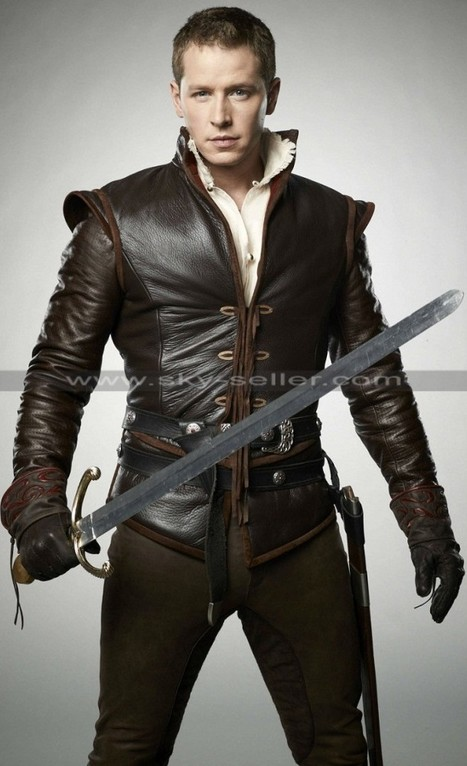 John Dallas Once Upon Time Prince Charming Jacket   Sky-Seller : Men Leather Jackets   Scoop.it