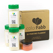 colorFabb Releases New 3D Printer Pellet Packs | 3D Printing and Fabbing | Scoop.it