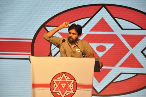 Pawn Kalyan at Jana Sena Party Launch Photos, Pawan Kalyan Pics, Pictures, Images, Gallery, Stills, Photos | Gallery | Scoop.it