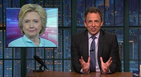 Seth Meyers Reads Some Of Hillary's Emails And Realizes She Sounds Like A Mob Boss | My Umbrella Cockatoo, TIKI | Scoop.it