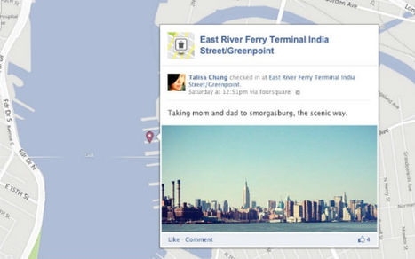 Foursquare Check-Ins Now on Facebook Timeline Map | AtDotCom Social media | Scoop.it