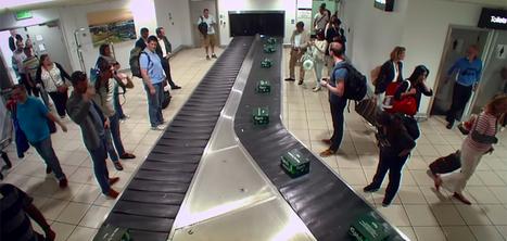Carlsberg surprend des voyageurs en leur offrant des bières via le carrousel à bagages | Médias sociaux et tourisme | Scoop.it