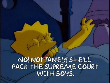 The Supreme Court According To The Simpsons | Criminal Law in California | Scoop.it