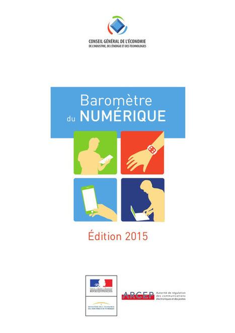 Baromètre 2015 du #numérique en #France du @credoc | Pense pas bête : Tourisme, Web, Stratégie numérique et Culture | Scoop.it