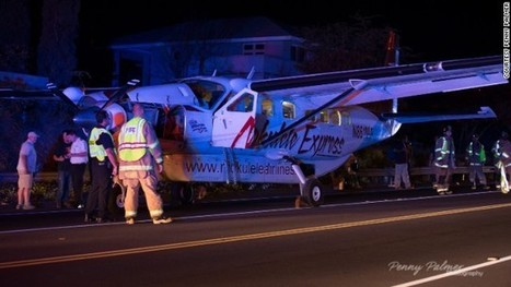 Atterrissage d'urgence sur une route d'un avion de Mokulele   Flight safety   Scoop.it