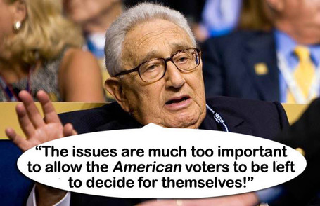 Kissinger vows to China  Jeb Bush Will Be Next President