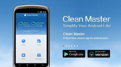 [App Review] Clean Master for Android - Android Junkie - Android News, App Reviews, Tips and Tricks | Android | Scoop.it