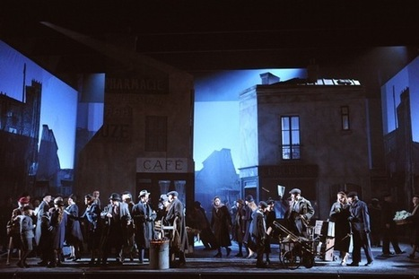 Postcard-perfect: La Boheme At English National Opera | Londonist | OPERA | Scoop.it
