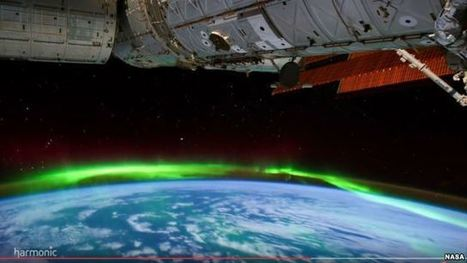 NASA Posts Stunning Aurora Borealis Ultra-HD Video | Everything from Social Media to F1 to Photography to Anything Interesting | Scoop.it