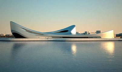 Regium Waterfront project, Italy, by Zaha Hadid   Architecture   Wallpaper* Magazine   Zaha Hadid Architects   Scoop.it