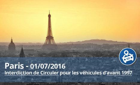 1er juillet 2016 Paris : interdiction des voitures d'avant 1997 - Blog LegiPermis | Sécurité routière | Scoop.it