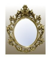 French Gold Rococco Mirror | Interiors | Scoop.it
