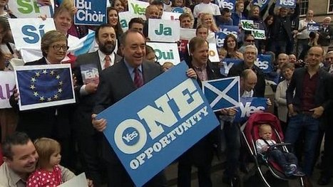 Yes vote 'means big Scots EU boost' | Independence for Scotland, It's Coming Soon! | Scoop.it