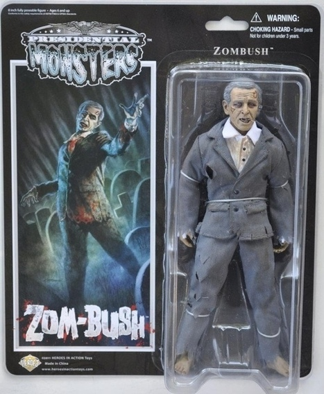 Presidents Become Monsters in Action Figure Line | Gov&Law3c | Scoop.it