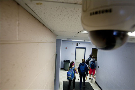 Surveillance Cameras Gain Ground in Schools | Educational Leadership and Technology | Scoop.it