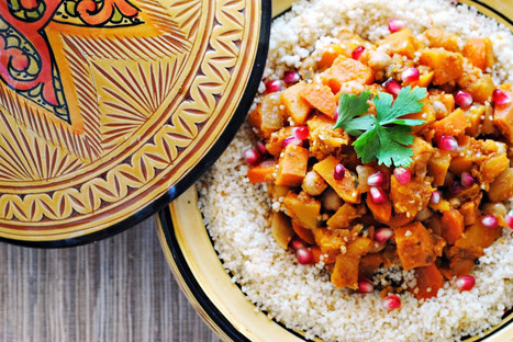 Eating In: Butternut Squash, Sweet Potato, and Chickpea Tagine   London Food and Drink   Scoop.it