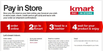 Kmart enhances on-the-go shopping with pay in store option - Mobile Commerce Daily - Multichannel retail support | Digital & eCommerce | Scoop.it