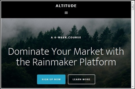 Altitude Pro Theme - Latest Parallax Theme from Studiopress | Small Business | Scoop.it