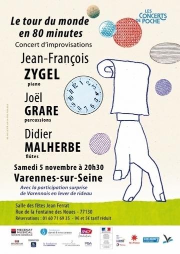 Concert « Le tour du monde en 80 minutes » à Varennes-sur-Seine le 5 novembre | Actualités culturelles et éducatives | Scoop.it
