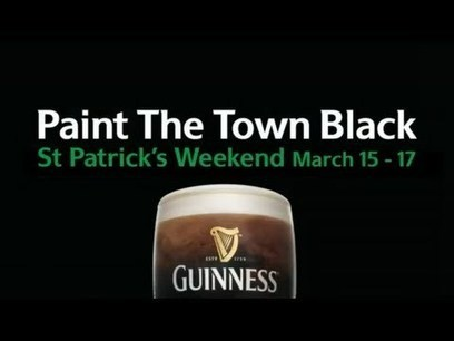 Guinness Helps You Invite Friends Out for St Patrick's Day with Personalized Movie Trailer | How To Unlock foursquare Badges | Scoop.it