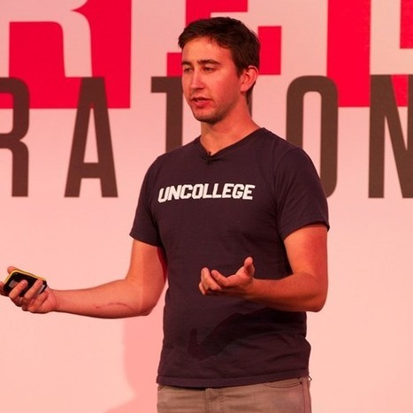 Dale Stephens, founder of UnCollege, on what he did 'instead of school' | Wired Next Generation 2013 video (Wired UK) | Unschooling | Scoop.it