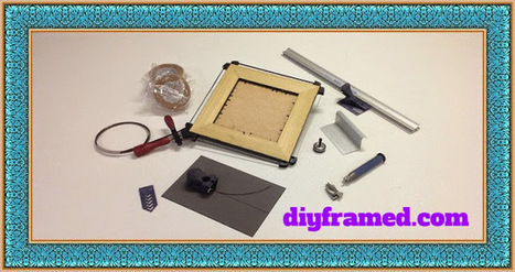 How Can I Buy Picture Framing Tools Online: What are the Picture Framing Tools and How Can I Buy these Online | Diyframed - Picture framing tools and materials | Scoop.it