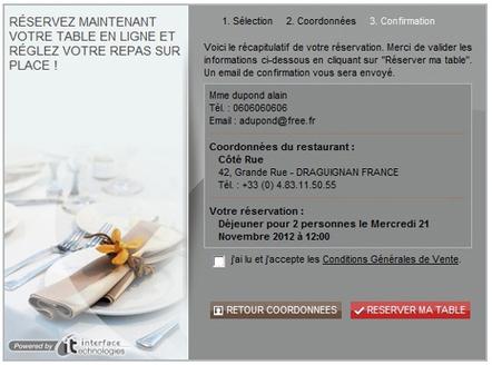 L'éditeur de ReservIT lance ITable: logiciel pour la commercialisation en ligne et en direct des restaurants | Distribution hôtelière | Scoop.it