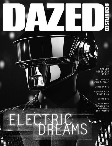 Daft Punk by Hedi Slimane for Dazed & Confused | Paris-Confidential | Scoop.it