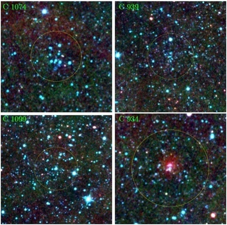 Seven new embedded clusters detected in the Galactic halo | Fragments of Science | Scoop.it