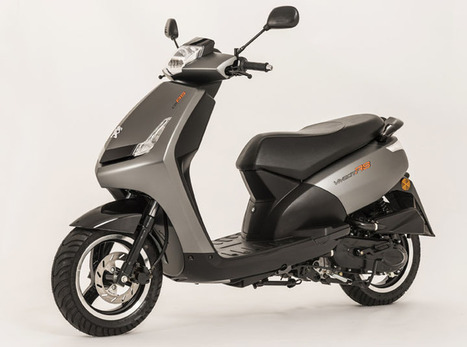 Sporty look for Peugeot's versatile Vivacity Scooter | Motorcycle Industry News | Scoop.it
