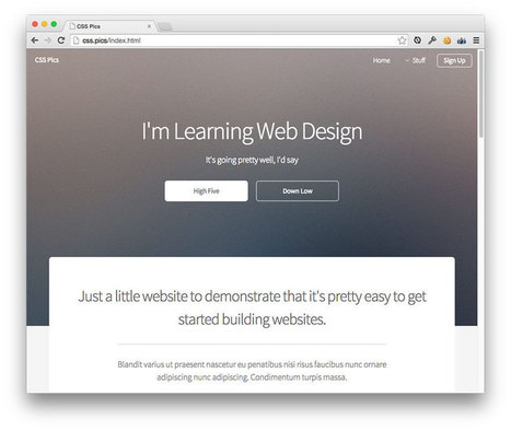 How To Get Started in Web Design | Dan's Homepage Hints | Scoop.it