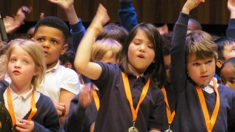 When little voices take to a big stage | Education Zone | Scoop.it