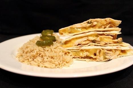 PicNic: Chicken and Jalapeno Quesadillas | Recipes | Scoop.it