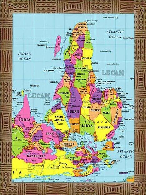 L'histoire des Antilles et de l'Afrique: VOICI LA VRAIE CARTE DE L´AFRIQUE CACHÉE AUX AFRICAINS DEPUIS 600 ANS | Everything you need… | Scoop.it
