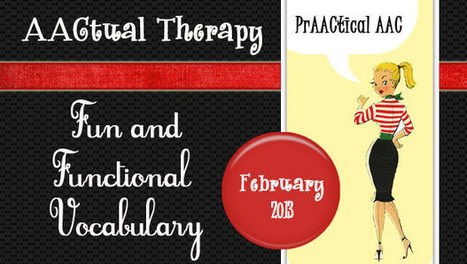 AACtual Therapy: Fun & Functional Vocabulary | Communication and Autism | Scoop.it
