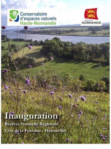 Conservatoire d'espaces naturels de Haute-Normandie : Inauguration de la Réserve naturelle régionale de la cote de la Fontaine d'Hénouville | Reseau cen | DD Normandie | Scoop.it