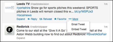 #Tip of the day for journalists: Note the new way to embed a tweet | Multimedia Journalism | Scoop.it