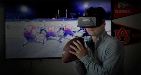 Using VR Revolutionize Sports Training with STRIVR Labs - Road to VR | Augmented, Alternate and Virtual Realities in Higher Education | Scoop.it