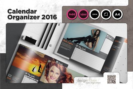 Organizer/Calendar 2016 Template - A4 Landscape | About Design | Scoop.it