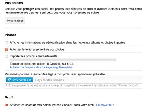 Google+ permet maintenant l'upload de photos haute résolution sur ... | une Maman photographie... | Scoop.it