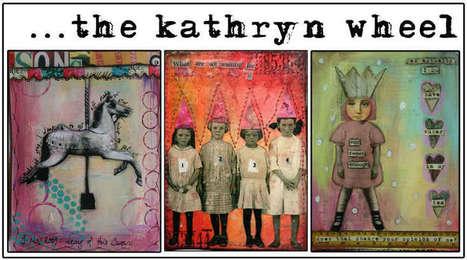 The Kathryn Wheel: Junk Journaling   Journaling Helps!   Scoop.it