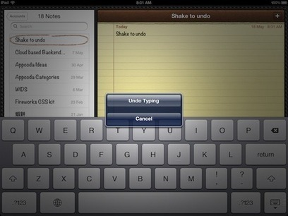 Back to Basic: Top 6 iPad Shortcuts Gestures | iPads in Education | Scoop.it