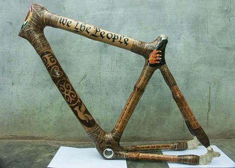 Une Ghanéenne crée des vélos en bambou, écologiques et durables | The Blog's Revue by OlivierSC | Scoop.it